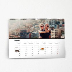 Calendario da parete A4