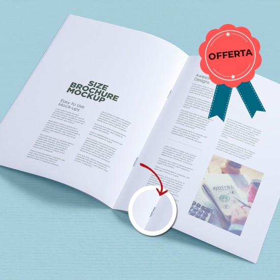 Brochure A4 - 500 pz.